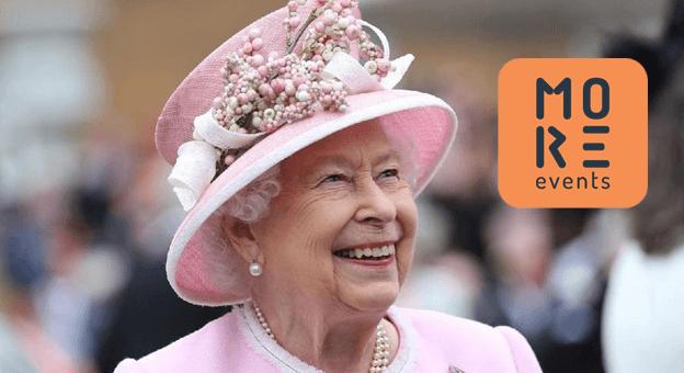 Kraliçe Elizabeth'i Karşılayan More Events 15. Yaşına Yeni Logosuyla Girdi