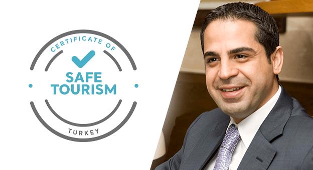"""Erkan Yağcı: """"Güvenli Turizm Sertifikasyon Programı ile  Güven Sağladık"""""""