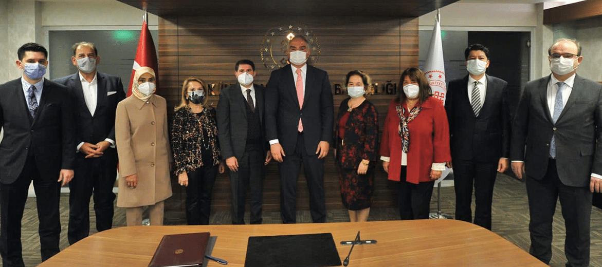 M.I.C.E. Endüstrisi Bileşenleri Ankara'ya Çıkarma Yaptı