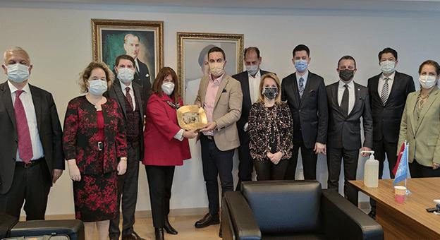 M.I.C.E. Sektör Bileşenleri Ankara'ya Çıkarma Yaptı