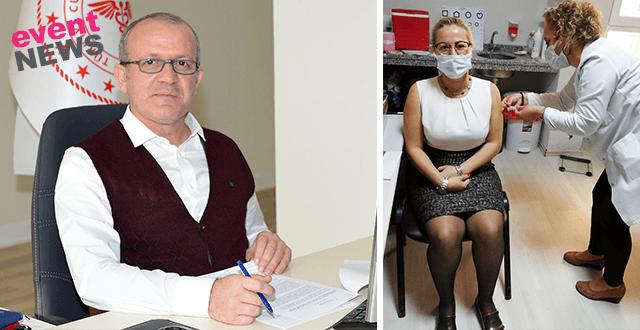 Antalya İl Sağlık Müdürü: Turizm ve basında aşılanan 40 bine yaklaştı