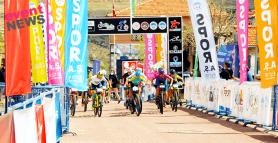 12 ülkeden 55 sporcu birincilik için Koramaz Vadisinde pedal çevirdi