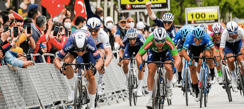 56'ncı Cumhurbaşkanlığı Türkiye Bisiklet Turu Marmaris-Turgutreis etabını Jasper Philipsen kazandı