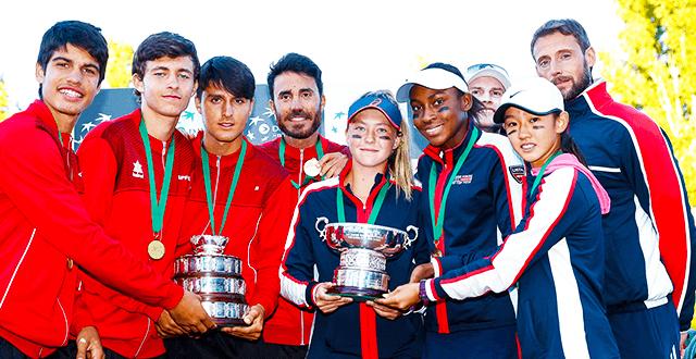 2021 BNP Paribas Junior Davis Cup ve Junior Billie Jean King Cup Finalleri Antalya'da düzenlenecek