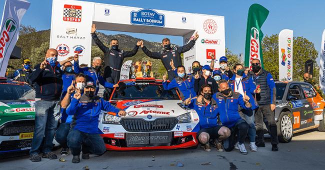 BOTAV Rally Bodrum, 81 Otomobil ve 162 Sporcu İle Gerçekleşti