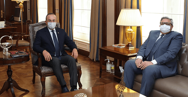 Bakan Çavuşoğlu, Rusya'nın Ankara Büyükelçisi ile görüştü
