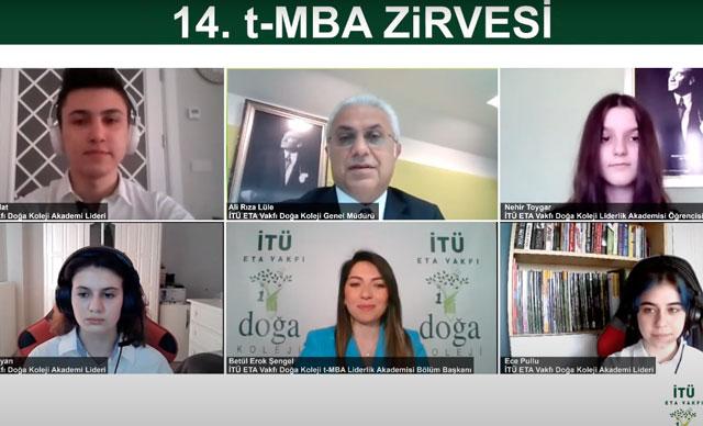 Geleceğin liderleri, iş dünyasının liderleri ile 14'üncü t-MBA Zirvesi'nde buluştu