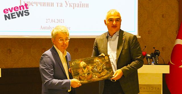 """Ukraynalı Bakan: """"Güvenli Turizm Sertifikası ve sektörün de aşılandığını gösterirseniz ben de çok sevinirim"""""""
