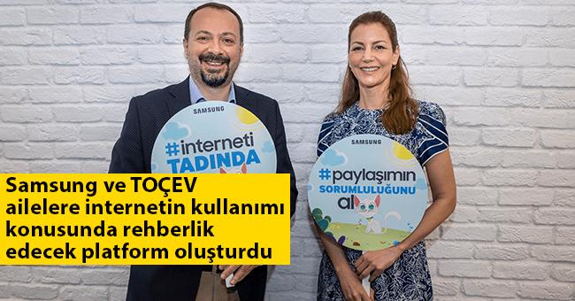 Samsung ve TOÇEV ailelere internetin kullanımı konusunda rehberlik edecek platform oluşturdu
