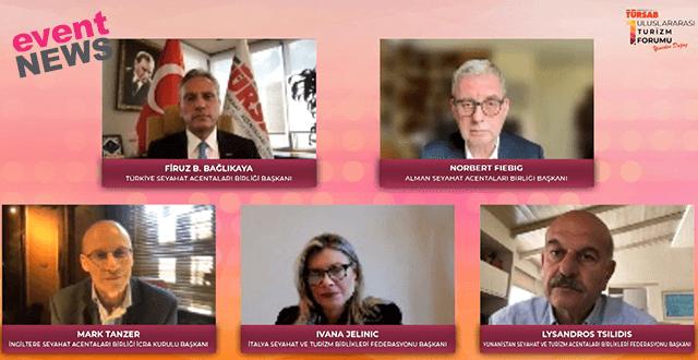 TÜRSAB 1. Uluslararası Turizm Forumu 'Yarış Yeniden Başlıyor' Paneli