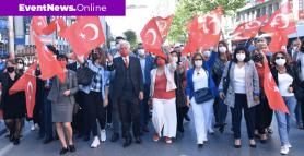 Milli Mücadele'nin simge ilçesi Şişli'de 19 Mayıs coşkuyla kutlandı