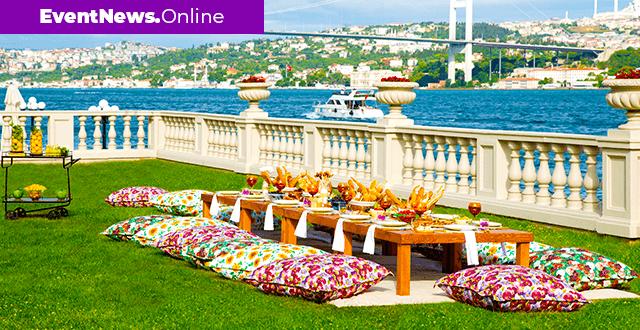 Çırağan Sarayı bahçelerinde 780 TL'ye lüks piknik