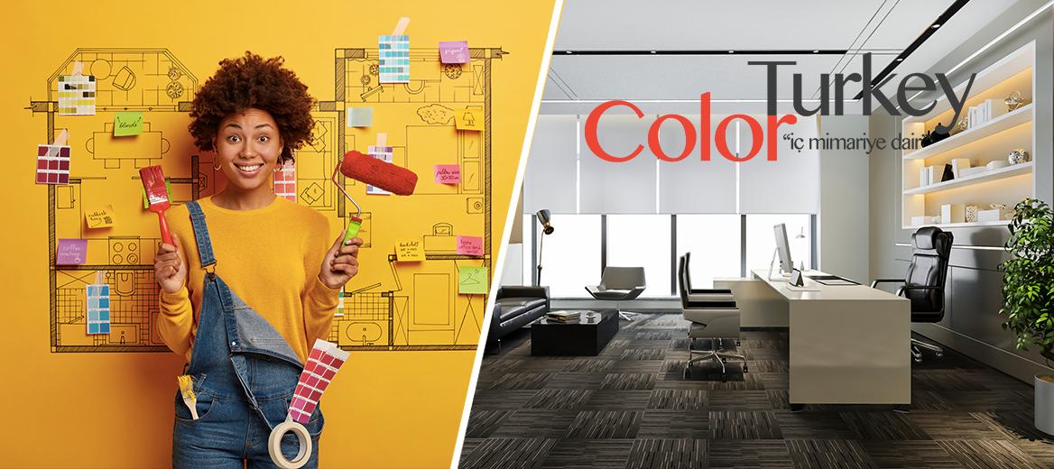 """Color Turkey'den, Event News okuyucularına özel """"Ev ve Ofis Dekorasyon Kampanyası"""""""